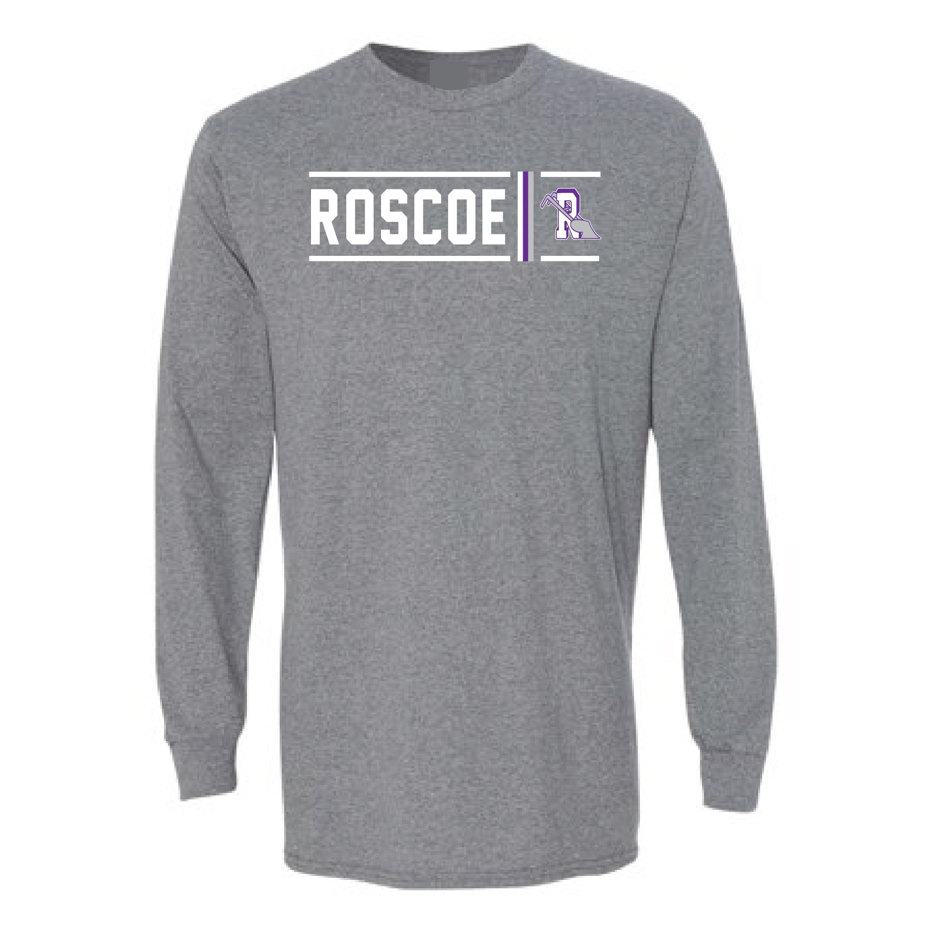 Roscoe Plowboys - Simple Stripe Long Sleeve T-Shirt