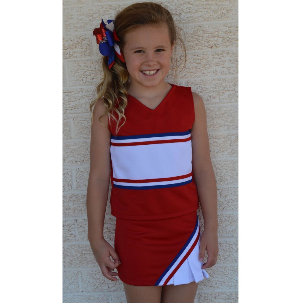 Red & Royal Cheer Suit