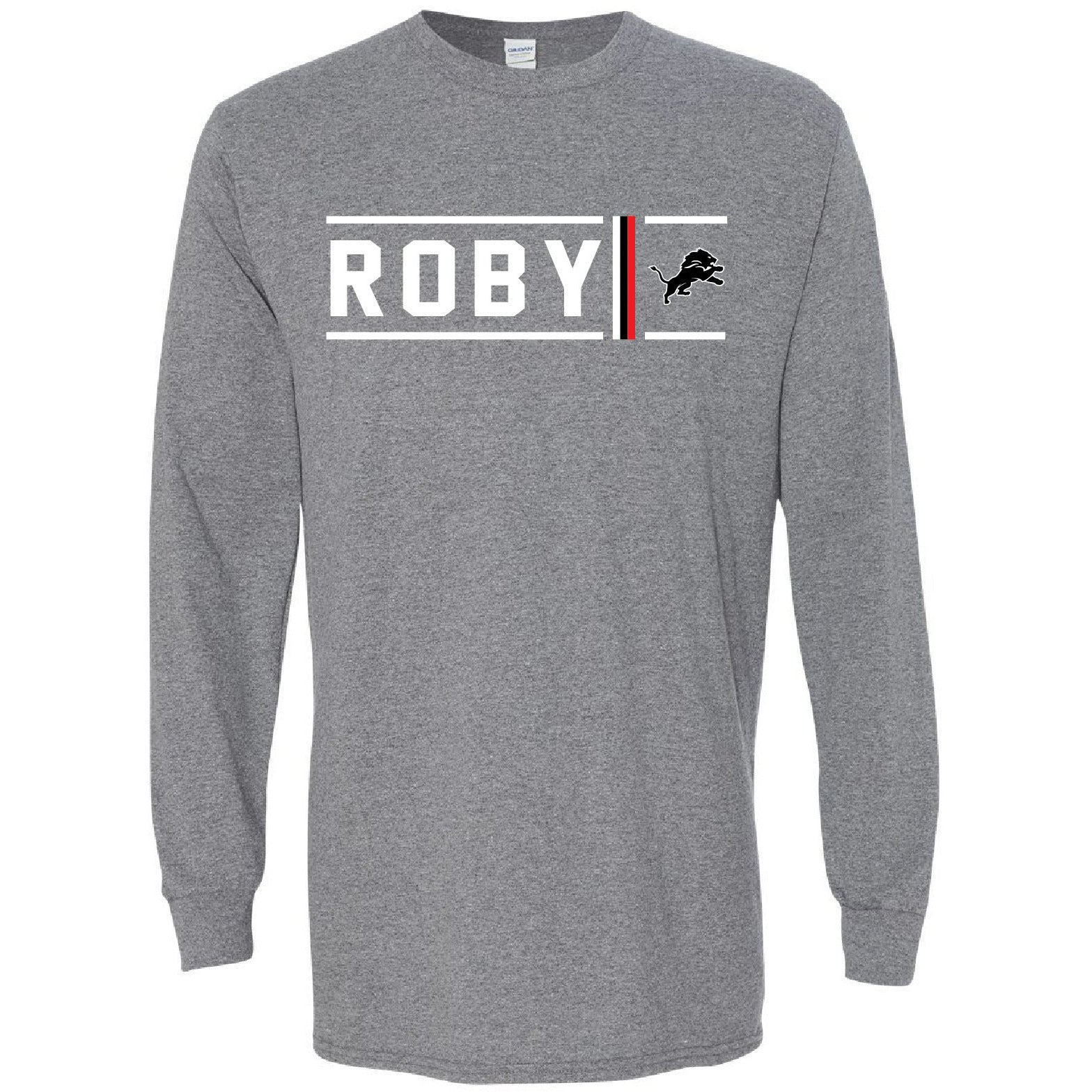 Roby Lions - Simple Stripe Long Sleeve T-Shirt