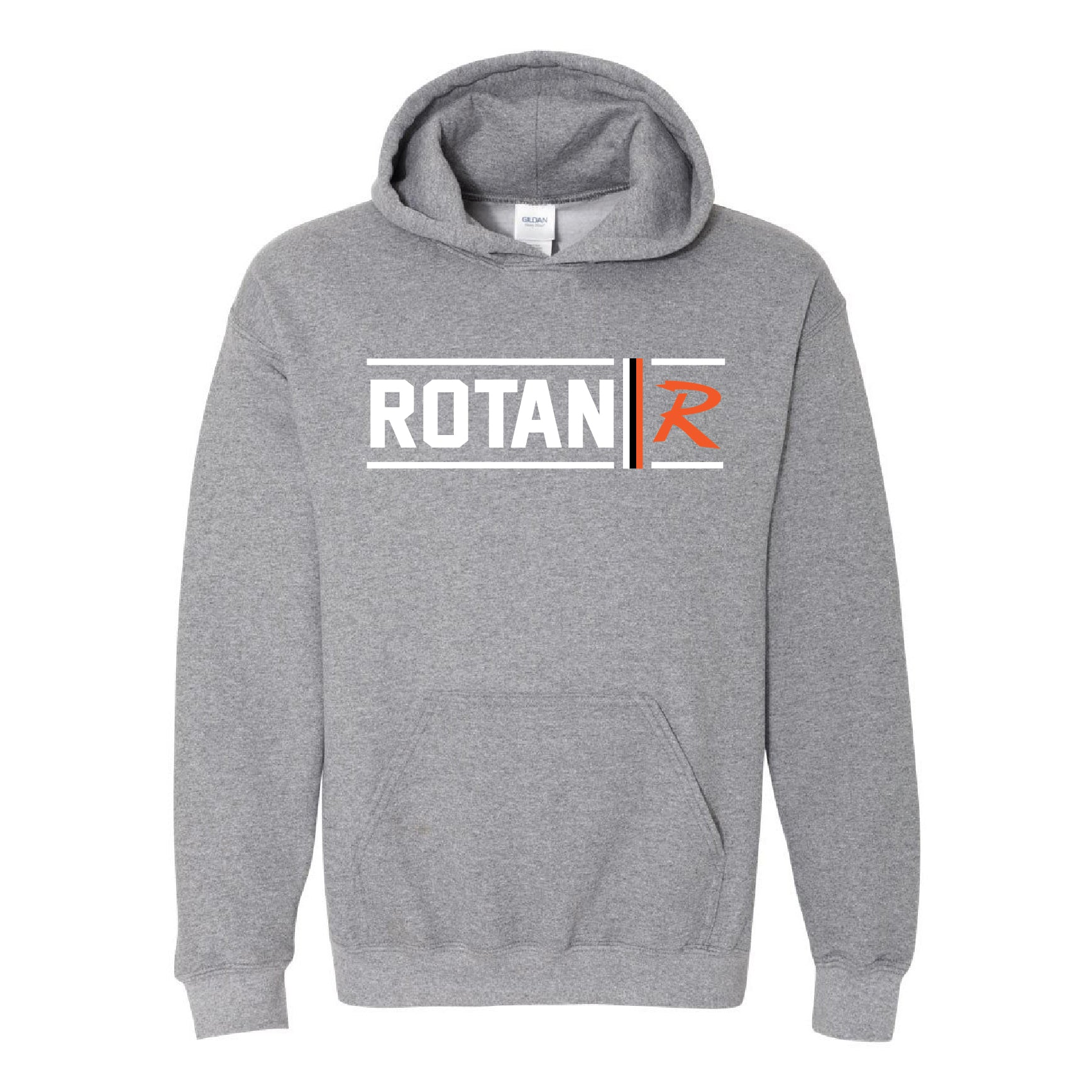 Rotan Yellowhammers - Simple Stripe Hoodie