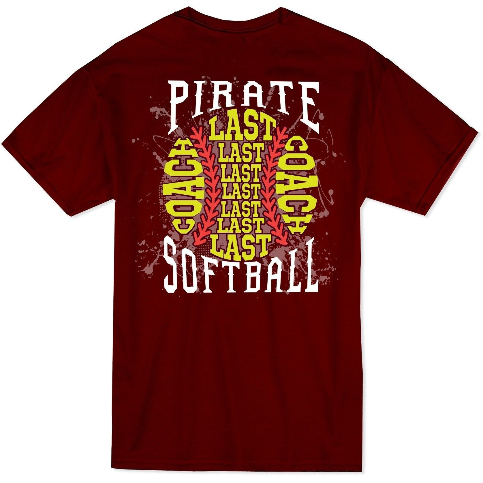 Softball - Pirate Ball Roster