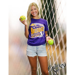 Wylie Bulldogs - Softball T-Shirt