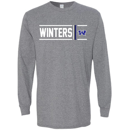 Winters Blizzards - Simple Stripe Long Sleeve T-Shirt