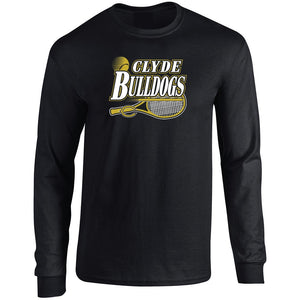 Clyde Bulldogs - Tennis Long Sleeve T-Shirt