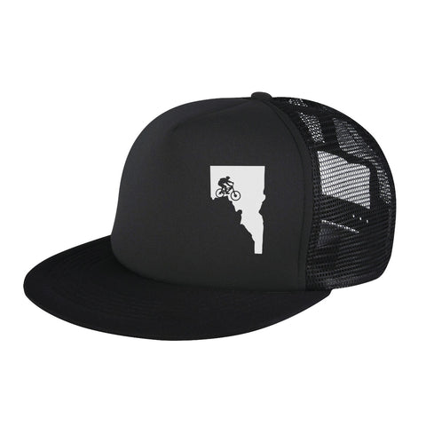 Idaho Mtn. Biker Trucker Hat