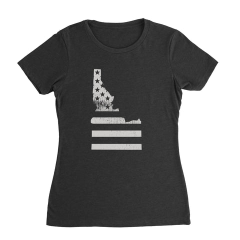 Idaho Flag Women's T-Shirt
