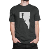 Idaho Man Hiker Men's T-Shirt