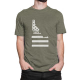 Idaho Flag Men's T-Shirt
