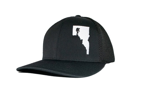 Idaho Man Hiker Flexfit Hat