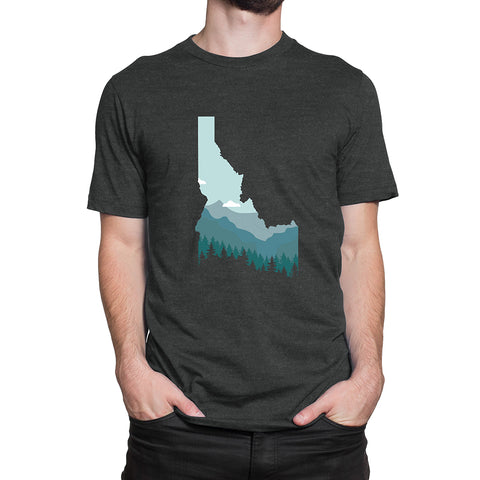Limited Edition Idaho Mountainscape Men's T-Shirt
