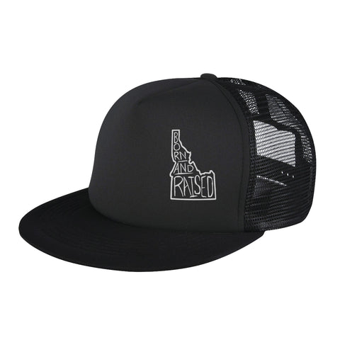 Born and Raised Snapback Hat