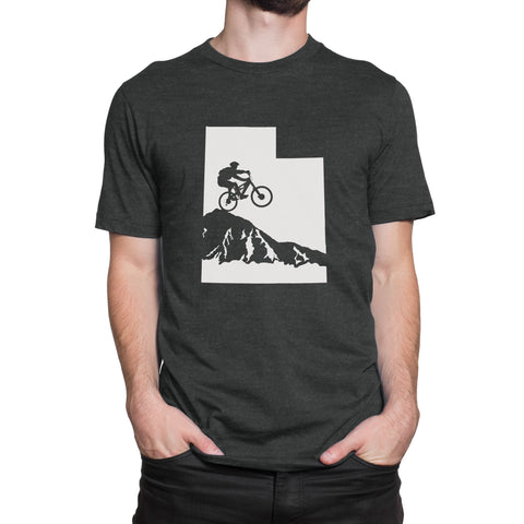 Utah Mountain Biker Men's T-Shirt