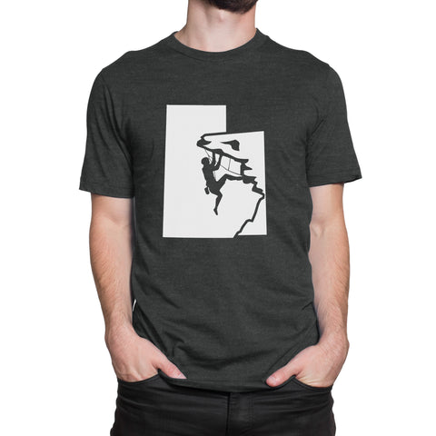 Utah Rock Climber Men's T-Shirt