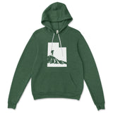 Utah Female Hiker Hooded Pullover