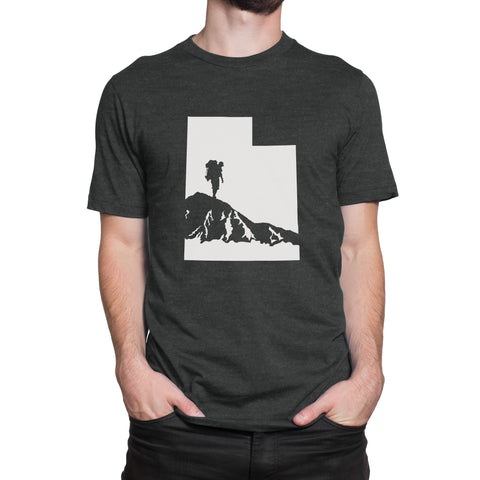 Utah Male Hiker Men's T-Shirt