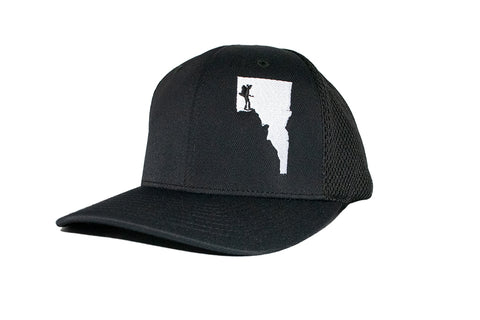 Idaho Woman Hiker Flexfit Hat
