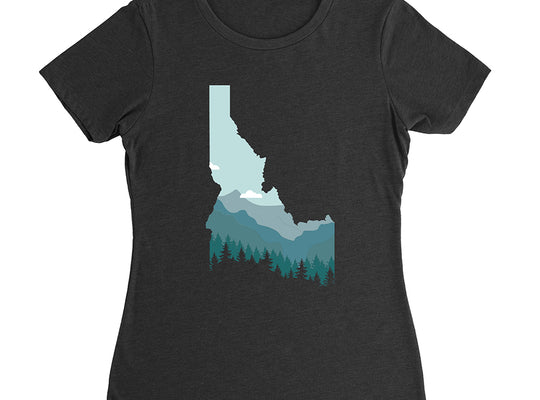 Limited Edition Idaho Mountainscape Women's T-Shirt