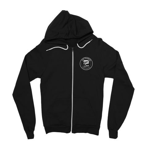 Idaho Born and Raised Zip-Up Hoodie
