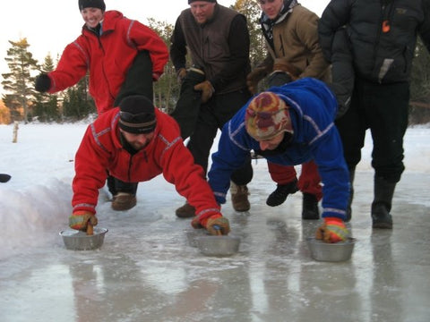 curling on ice