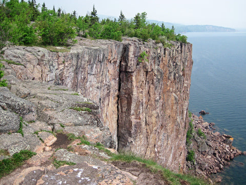 Palisade Head, Rock Climbing, Minnesota, Northern Minnesota, Ely,MN