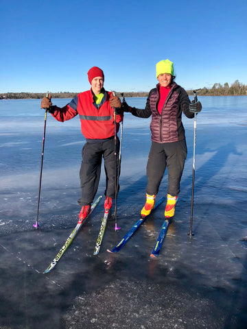 cross country skiing Ely