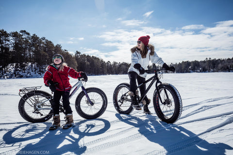 Fat Tire Biking in Ely, MN