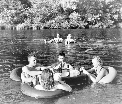 Tubers in the Apple River