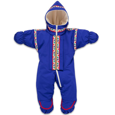 Wintergreen Northern Wear Baby & Toddler ONE / Royal Blue Shell (Choo Choo Charlie Trim) Infant Polar Express Suit winter camping clothing clothing for winter camping made in america clothing made in america made in minnesota minnesota made hand made clothing outdoor outdoor clothing american made clothing dogsledding clothing for dogsledding winter clothing canoe clothing clothing for canoeing minnesota ely hand crafted clothing hand made outdoor clothing conscious closet conscious consumer buy local local