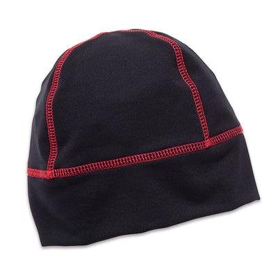 Wintergreen Northern Wear Hat ONE / Black/Red Powerstretch Skimmer Cap (Unisex) winter camping clothing clothing for winter camping made in america clothing made in america made in minnesota minnesota made hand made clothing outdoor outdoor clothing american made clothing dogsledding clothing for dogsledding winter clothing canoe clothing clothing for canoeing minnesota ely hand crafted clothing hand made outdoor clothing conscious closet conscious consumer buy local locally made