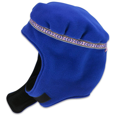 Wintergreen Northern Wear Hat Small / Royal Blue (Uppland Trim) Expedition Fleece Hat (Kid's) winter camping clothing clothing for winter camping made in america clothing made in america made in minnesota minnesota made hand made clothing outdoor outdoor clothing american made clothing dogsledding clothing for dogsledding winter clothing canoe clothing clothing for canoeing minnesota ely hand crafted clothing hand made outdoor clothing conscious closet conscious consumer buy local locally made