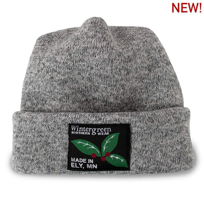 Wintergreen Northern Wear Hat Sweater Fleece Stocking Cap (Unisex) clothing made in america minnesota made outdoor clothing ely hand made outdoor clothing Made in USA