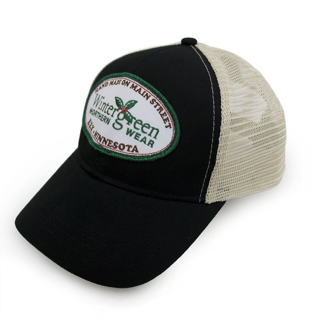 00a85a6fda1 Wintergreen Northern Wear Hat Wintergreen Patch Hat clothing made in  america minnesota made outdoor clothing ely