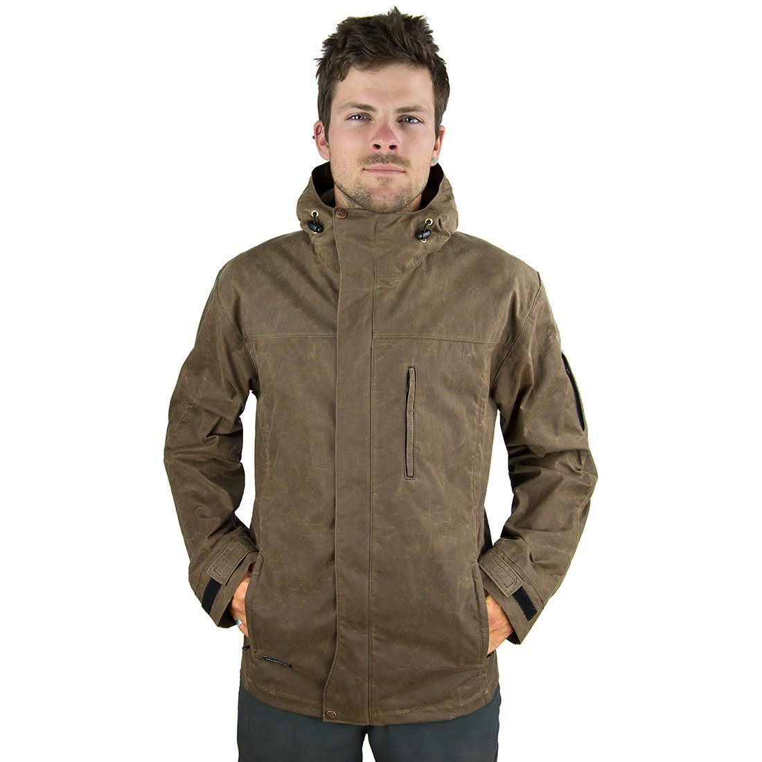 New! Wintergreen Waxed Cotton Trail Coat (Men's) - Made In Ely, MN ...