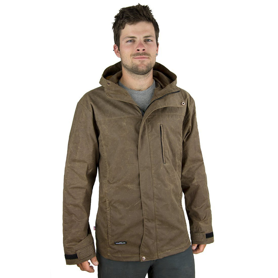 New! Waxed Cotton Trail Jacket (Men's)