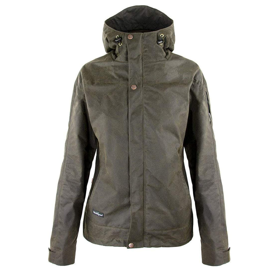 Wintergreen Northern Wear Jacket Lined Waxed Cotton Trail Jacket (Women's) clothing made in america minnesota made outdoor clothing ely hand made outdoor clothing Made in USA