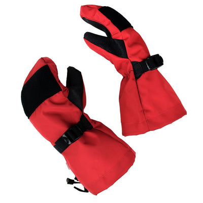 Wintergreen Northern Wear Mittens X-Small / Red Shell Wintergreen Shell Overmitts (Unisex) clothing made in america minnesota made outdoor clothing ely hand made outdoor clothing Made in USA