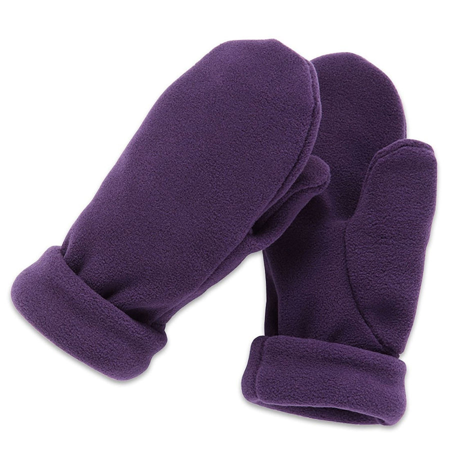 Wintergreen Northern Wear Mittens XX-Small / Amethyst Roll Cuff Mittens (Kid's) winter camping clothing clothing for winter camping made in america clothing made in america made in minnesota minnesota made hand made clothing outdoor outdoor clothing american made clothing dogsledding clothing for dogsledding winter clothing canoe clothing clothing for canoeing minnesota ely hand crafted clothing hand made outdoor clothing conscious closet conscious consumer buy local locally made