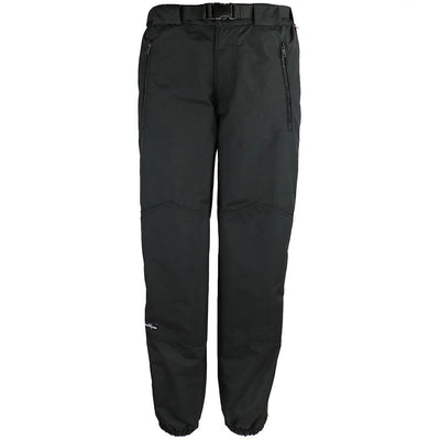 Wintergreen Northern Wear Pants 4 / Black Shell / Regular Full-Zip Shell Pant With Fly (Women's) clothing made in america minnesota made outdoor clothing ely hand made outdoor clothing Made in USA