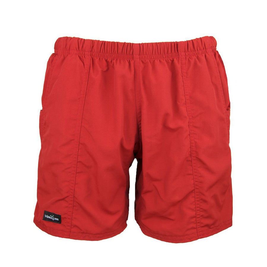 "Wintergreen Northern Wear Shorts XS / Khaki Shell / 7"" Boundary Waters Canoe Shorts (Unisex) clothing made in america minnesota made outdoor clothing ely hand made outdoor clothing Made in USA"