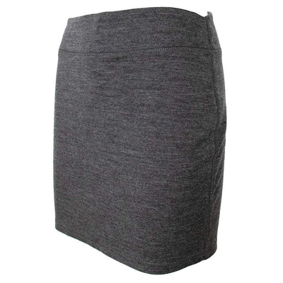 Wintergreen Northern Wear Skirt X-Small / Black Powerstretch Merino Wool Pencil Skirt