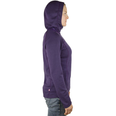 Wintergreen Northern Wear Top Hannah Hoodie Merino Wool (Women's) winter camping clothing clothing for winter camping made in america clothing made in america made in minnesota minnesota made hand made clothing outdoor outdoor clothing american made clothing dogsledding clothing for dogsledding winter clothing canoe clothing clothing for canoeing minnesota ely hand crafted clothing hand made outdoor clothing conscious closet conscious consumer buy local locally made