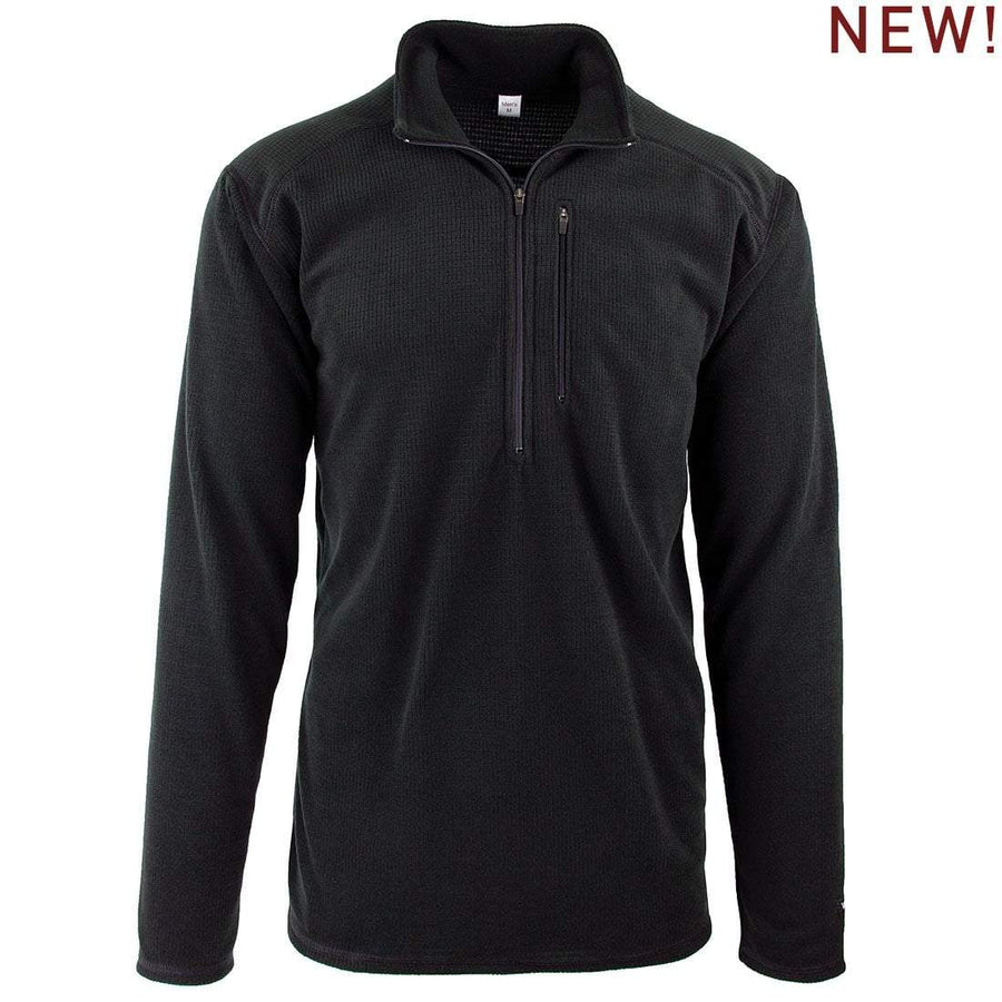 New! Lightweight Micro Grid Fleece Portage Top (Men's)