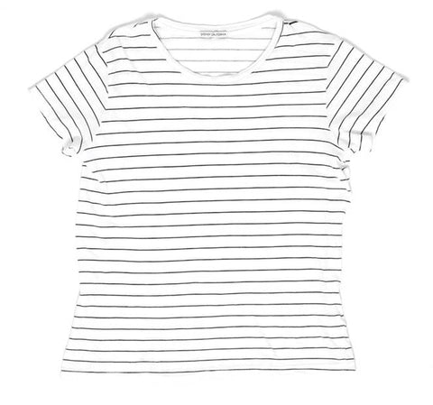 The Side Boy Tee - Black Renegade Stripe