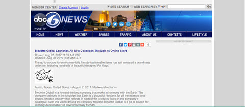 Bleuette Global Launches All New Collection (1), ABC6 News, Updated: Aug 08, 2017 3:36 AM CDT