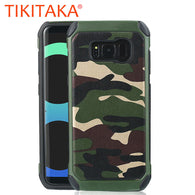 Army Camo Camouflage Hybrid Phone Cases For Samsung Galaxy S8 S8 Plus - Bleuette Global