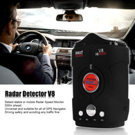 16 Band Car Radar Detector Speed Camera Detectors for Car V8 X K Ku Ka