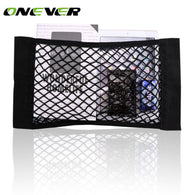 Car Seat Mesh Net Bag Magic Storage 50cm x 25cm