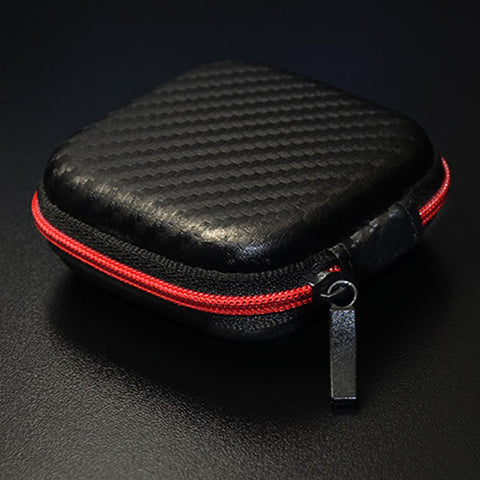 High-Grade Leather Storage Box Headset Carrying Neutral Anti-Pressure - Bleuette Global