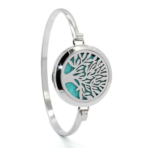 Tree of Life  Essential Oils Diffuser Bracelet - Bleuette Global