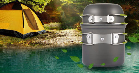 Image of Ultralight Outdoor Camping Cookware Utensil - 101survivalgear.com